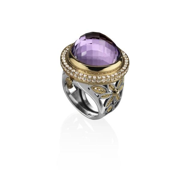 The Locket Ring by Azza Fahmy