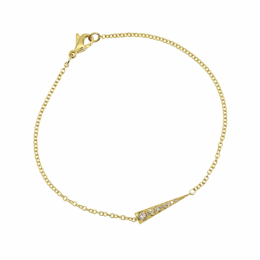 Spark Bracelet – Champagne Diamond by Daou Jewellery