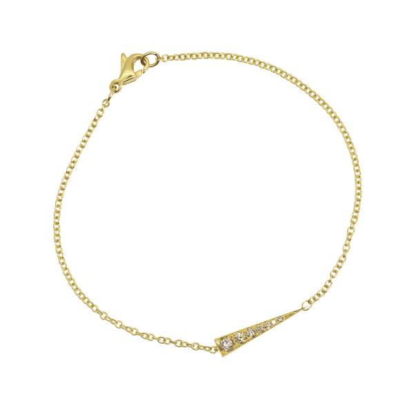 Spark Bracelet – Champagne Diamond