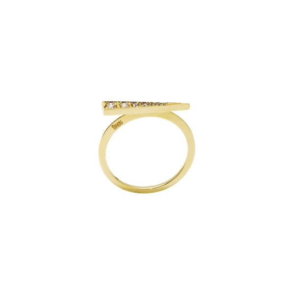 Spark Ring – Champagne Diamond by Daou Jewellery