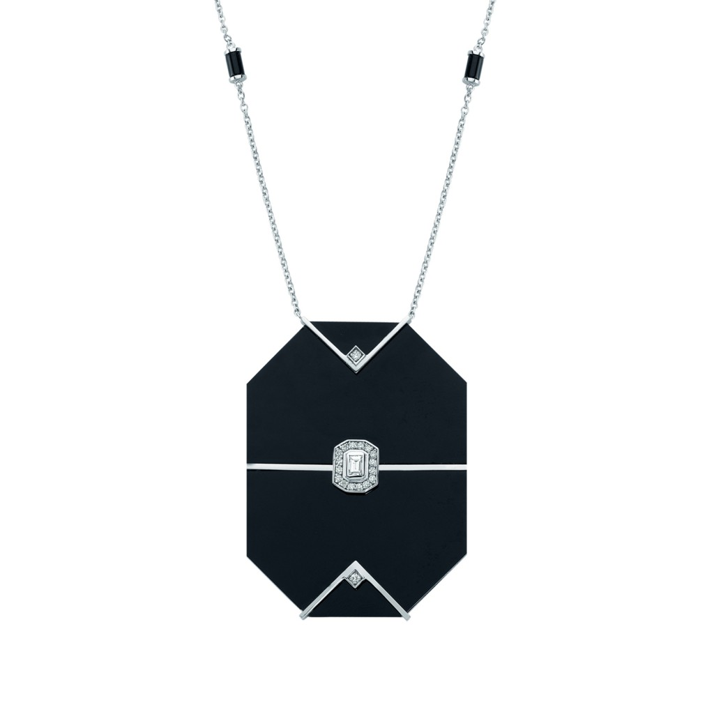 Dark Midnight Necklace by Melis Goral