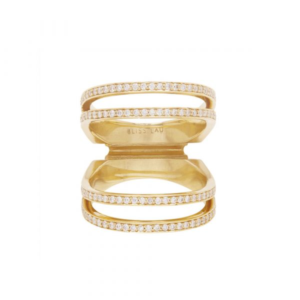Elliptical Enclose Ring by Bliss Lau