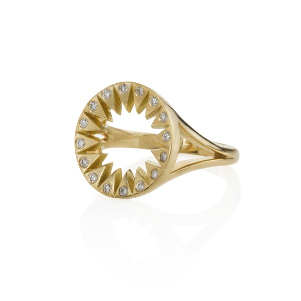 Yakshini Diamond Ring by Flora Bhattachary