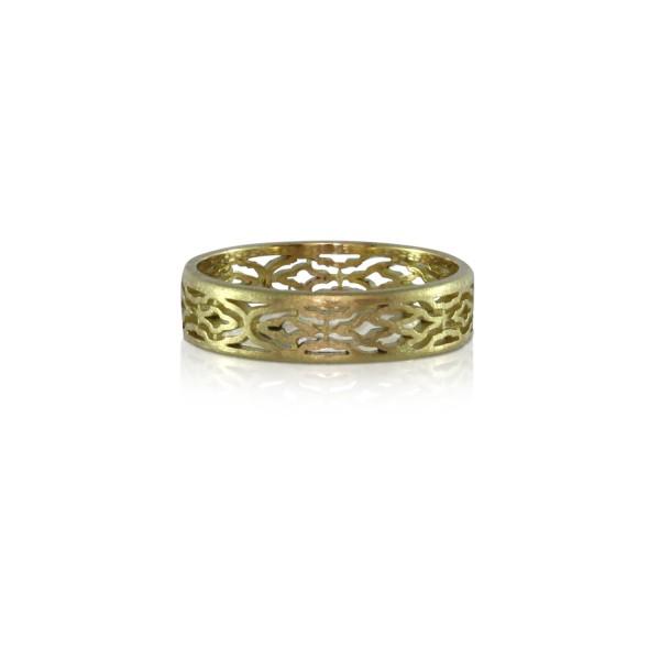 Arabesque Gold Ring