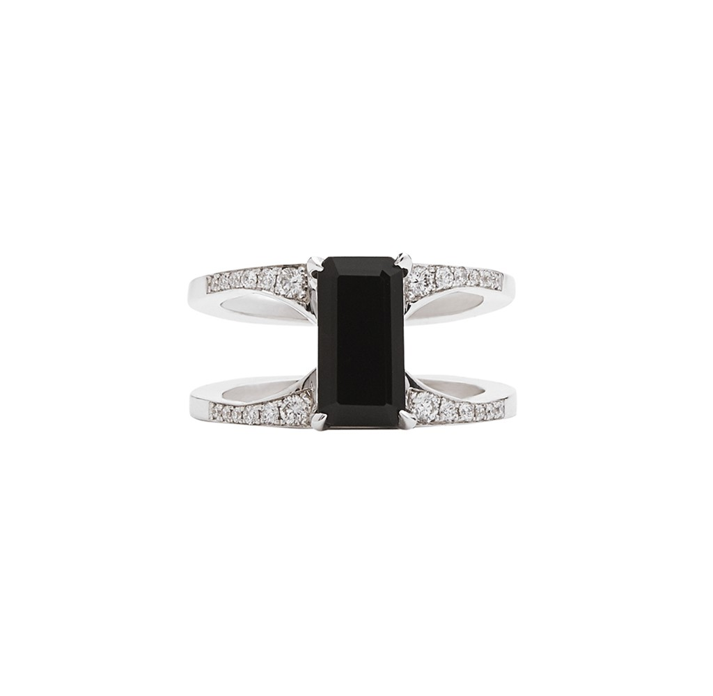 Mirage Black Ring by Bliss Lau