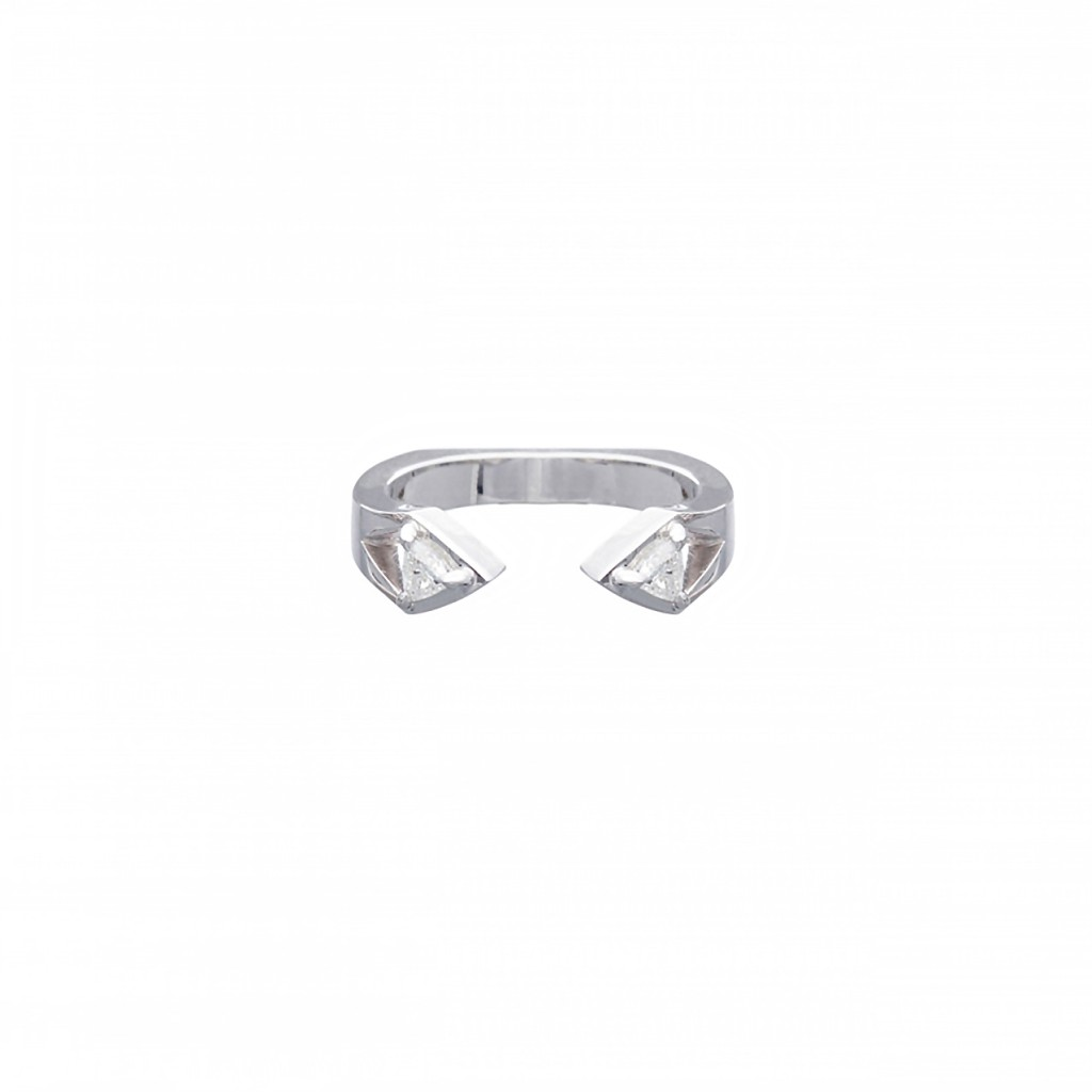 Reflection Ring – White Diamonds