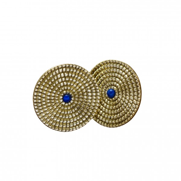 Nagbeshar Lapis Earrings by Kaligarh