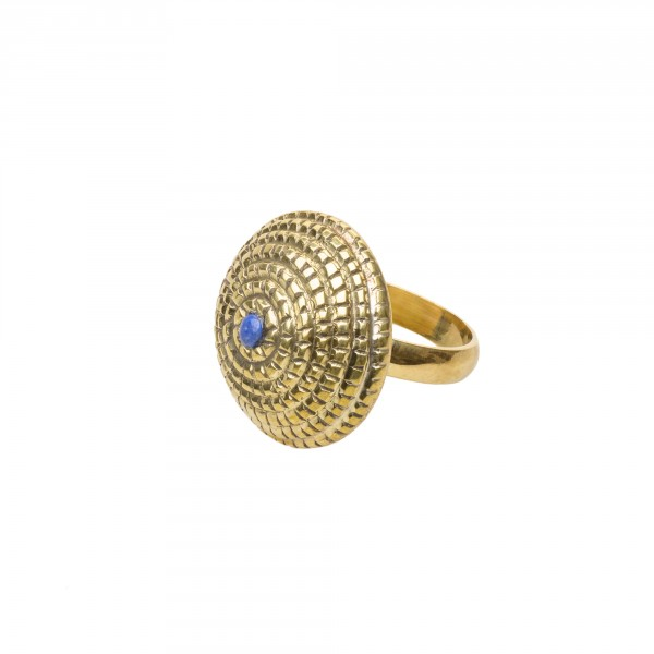 Nagbeshar Lapis Ring by Kaligarh