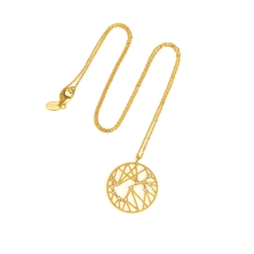 SCORPIO Star Sign Necklace