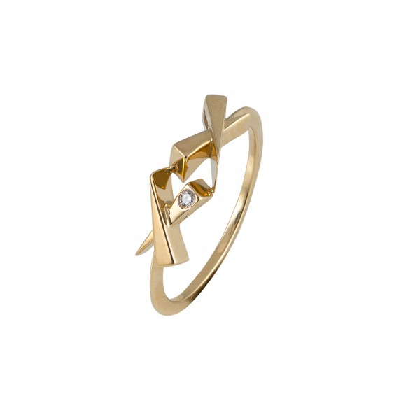 Kisses Diamond Ring by Daou Jewellery