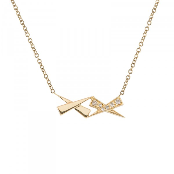 Kisses Diamond Pendant by Daou Jewellery