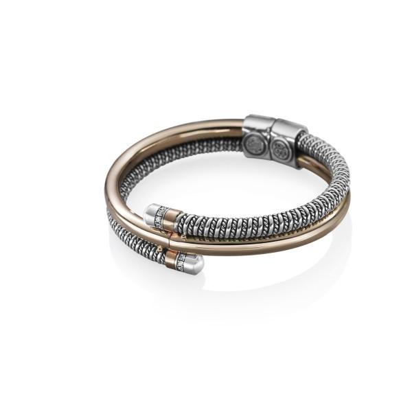 Coiled Bracelet Rose Gold