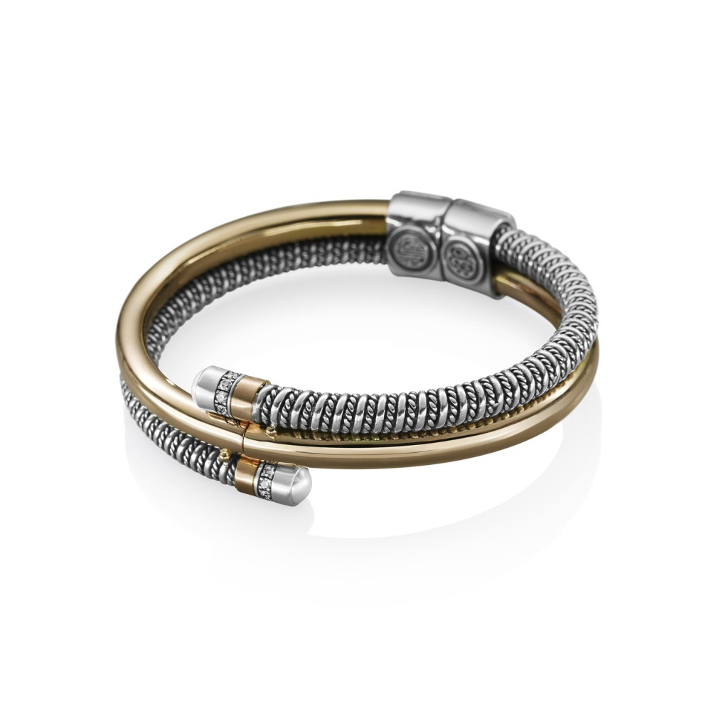 Coiled Bracelet Gold