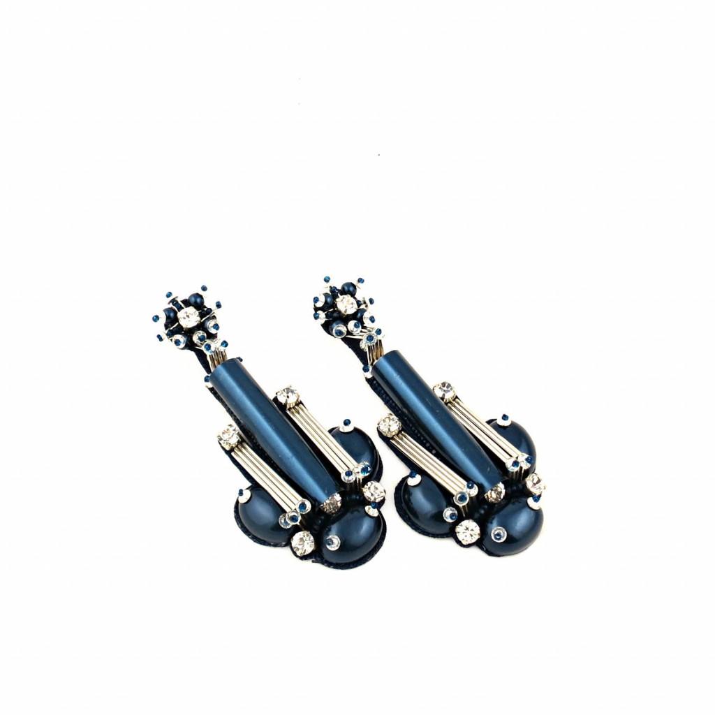 Beautix Earrings – Blue by Begada