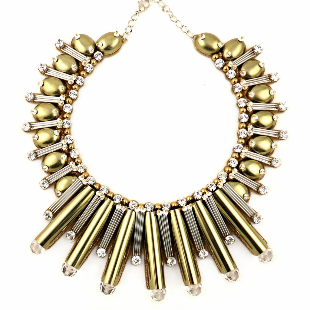 Beautix Necklace – Gold by Begada