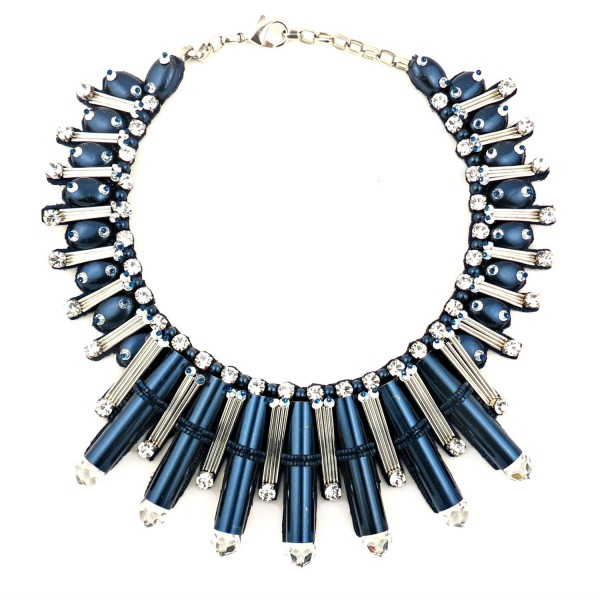 Beautix Necklace – Blue by Begada