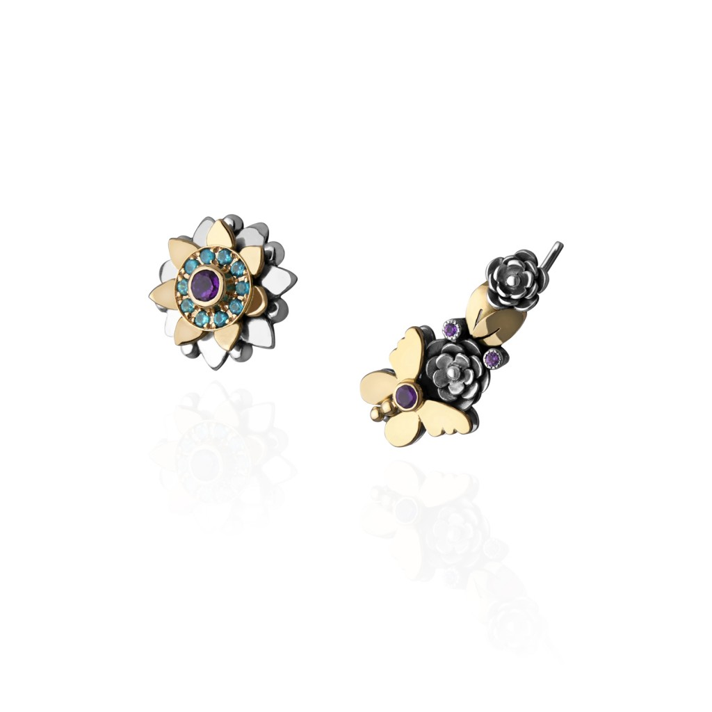 Nature Crawler Earrings