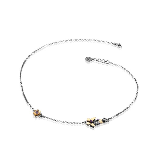 Dainty Butterfly Necklace by Azza Fahmy
