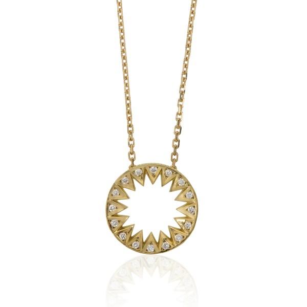 Taxila Diamond Mini Pendant