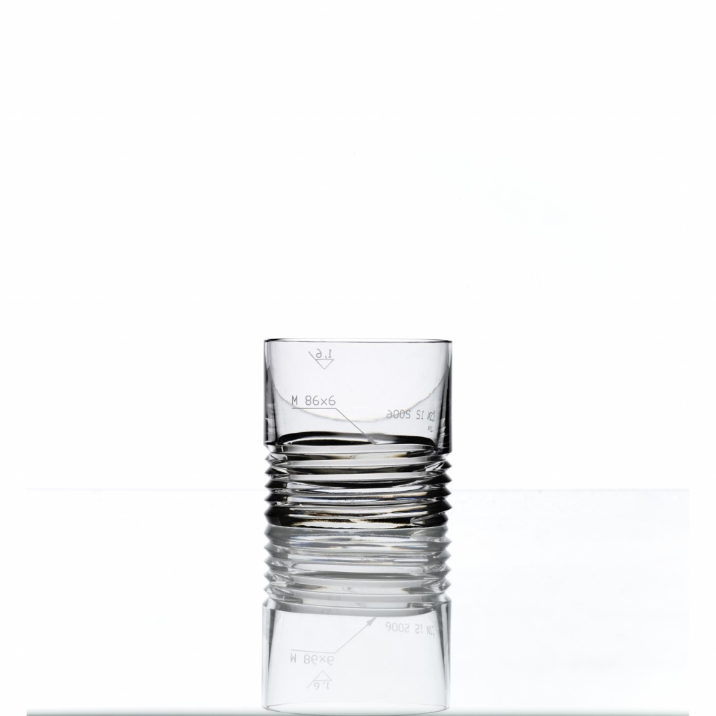 Koncern Design Whisky Tumbler Set of 2 by Bomma Crystal