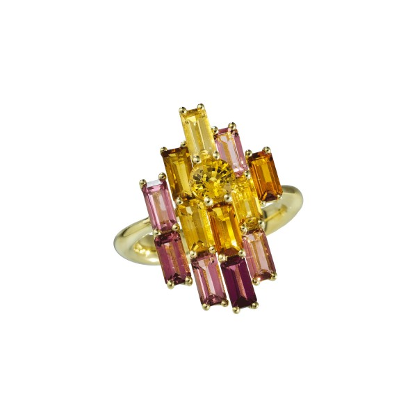 Golden Bright Ring by Daou Jewellery