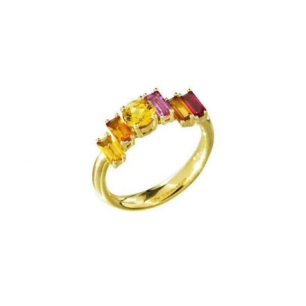 Golden Light Ring by Daou Jewellery