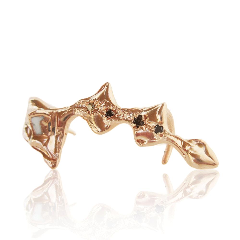 Curved Arrow Ear Cuff by Imogen Belfield