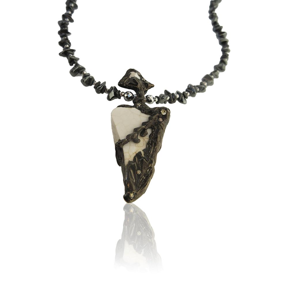 Dark Ephesus Collier by Imogen Belfield