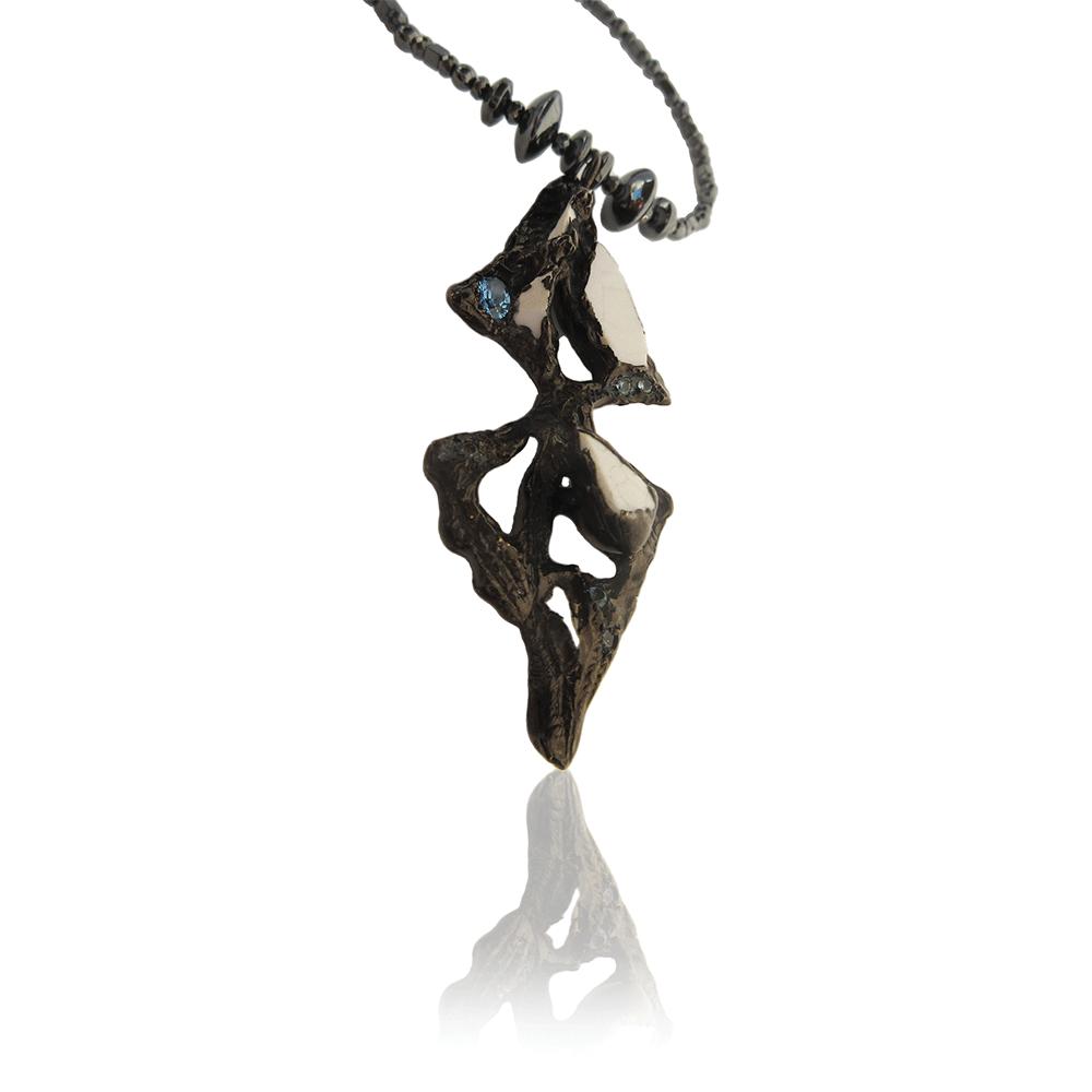Dark Spear Necklace by Imogen Belfield