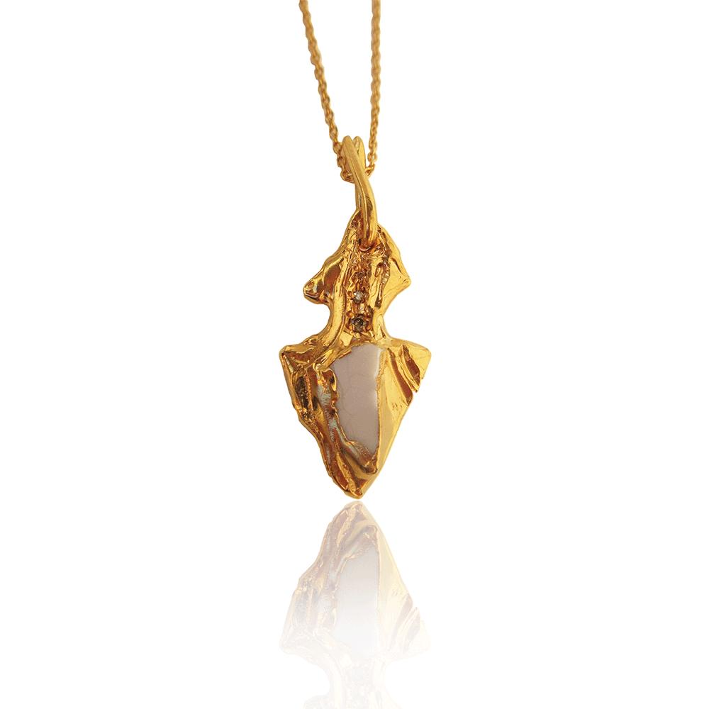 Drop Spear Necklace by Imogen Belfield