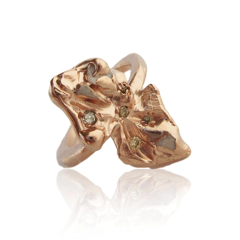Marpesia Ring by Imogen Belfield