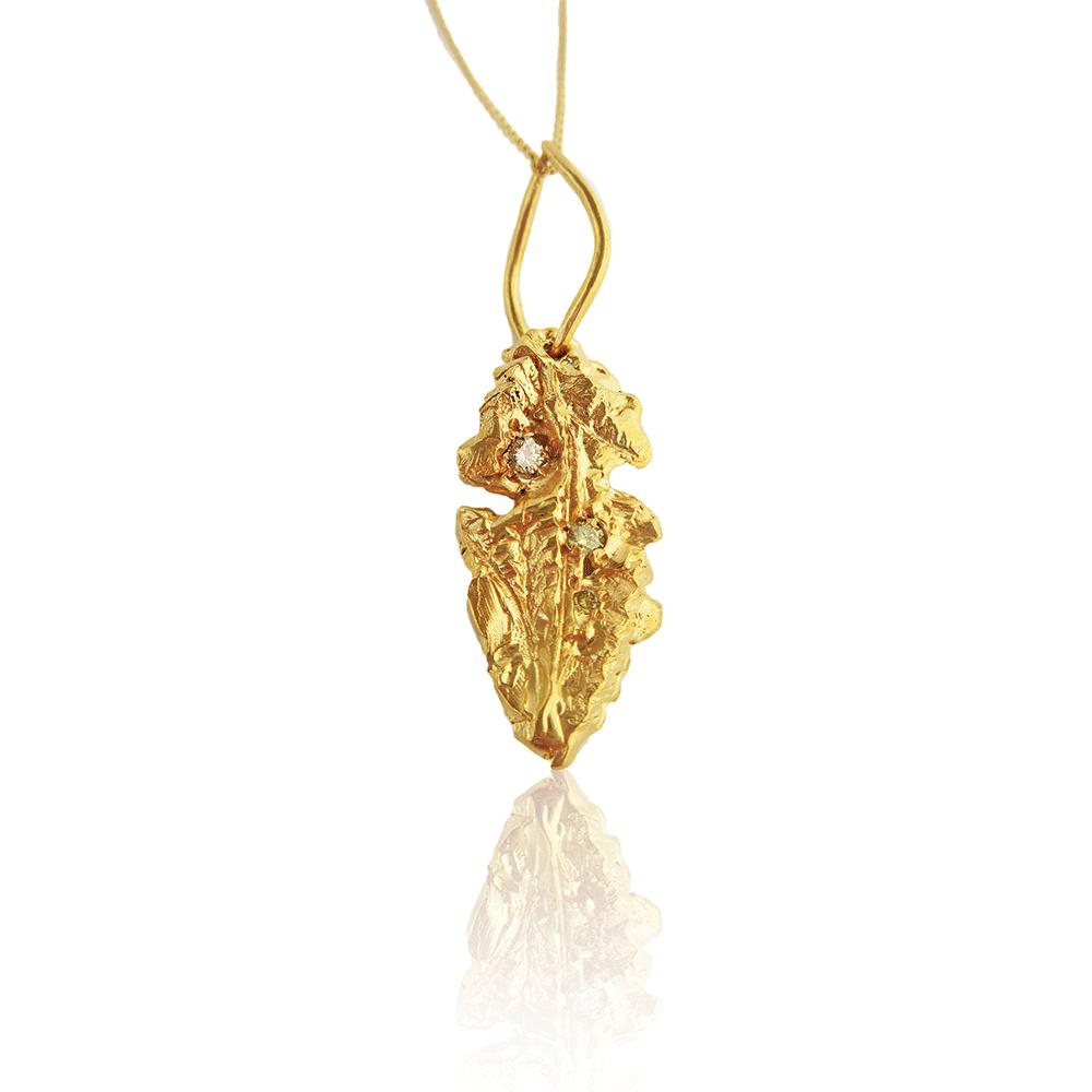 Organic Spear Necklace by Imogen Belfield