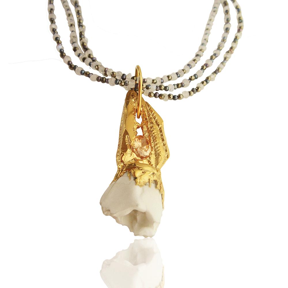 Pharetre Necklace by Imogen Belfield
