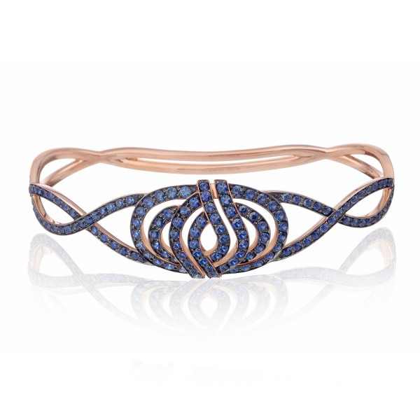 Infinitas Palm Bracelet with Sapphires
