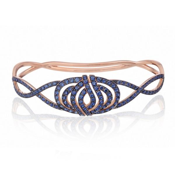 Infinitas Palm Bracelet with Sapphires