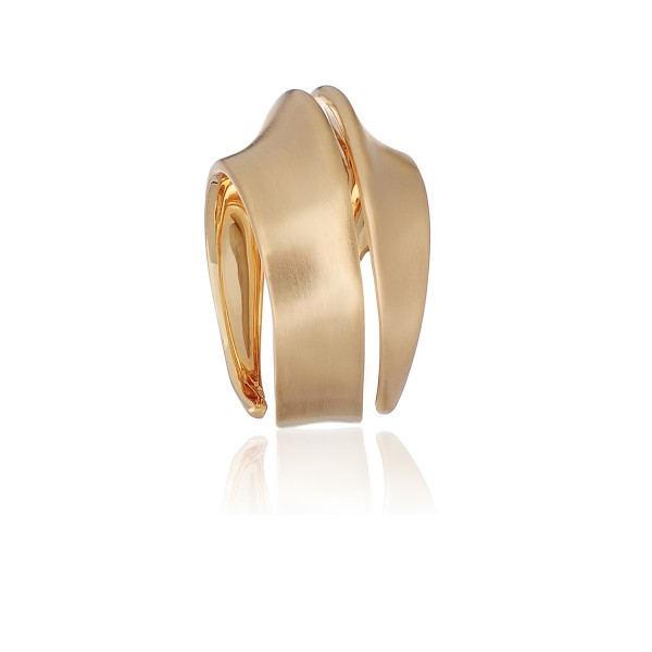 Spira Ring in Yellow Gold