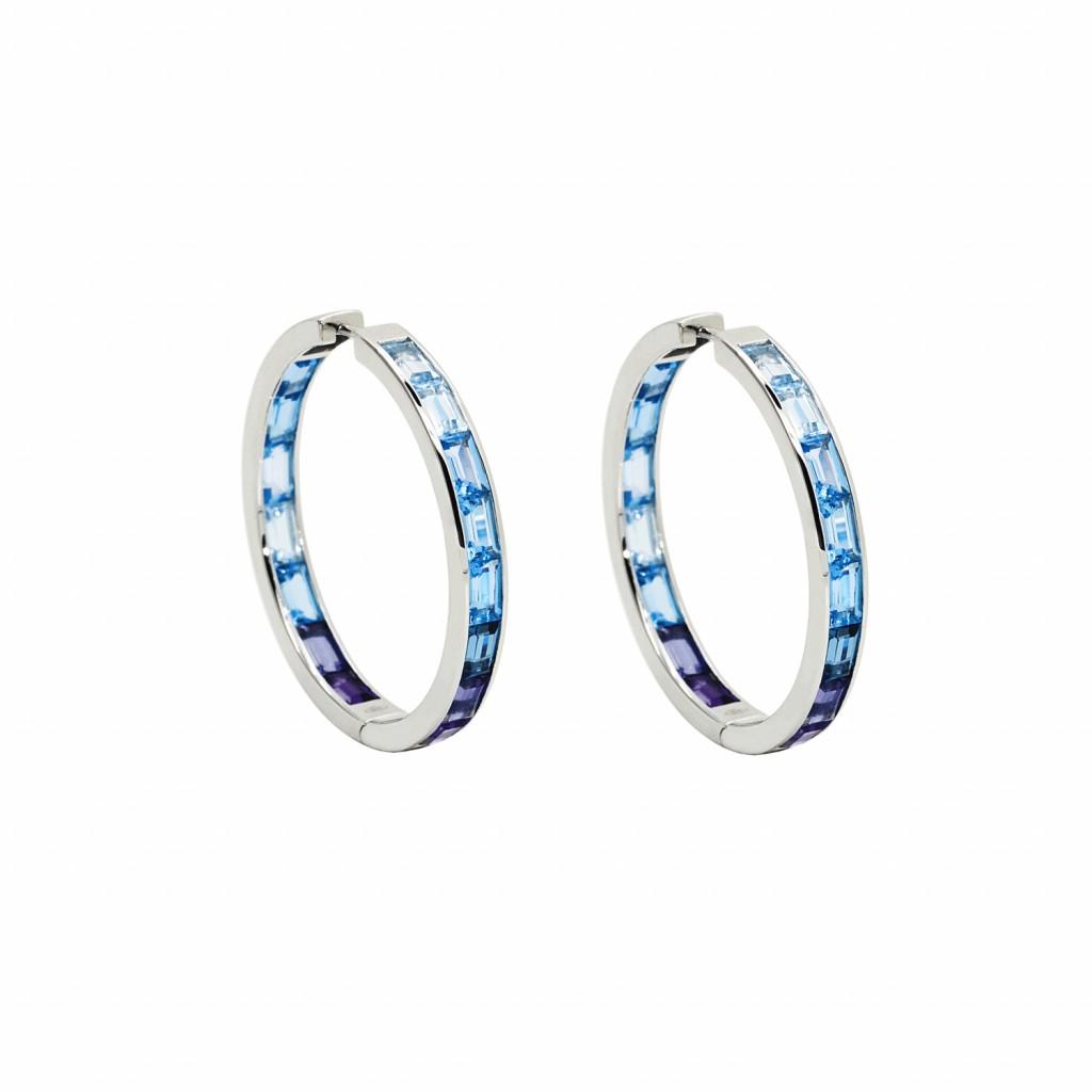 Morning Hoop Earrings