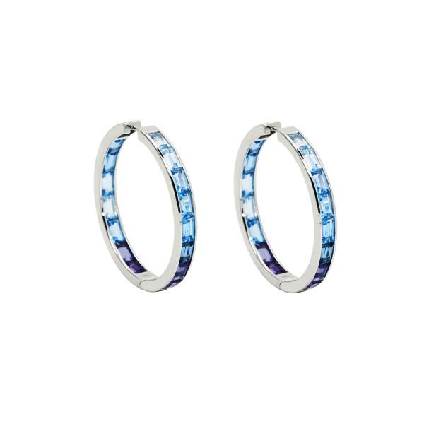 Morning Hoop Earrings by Daou Jewellery