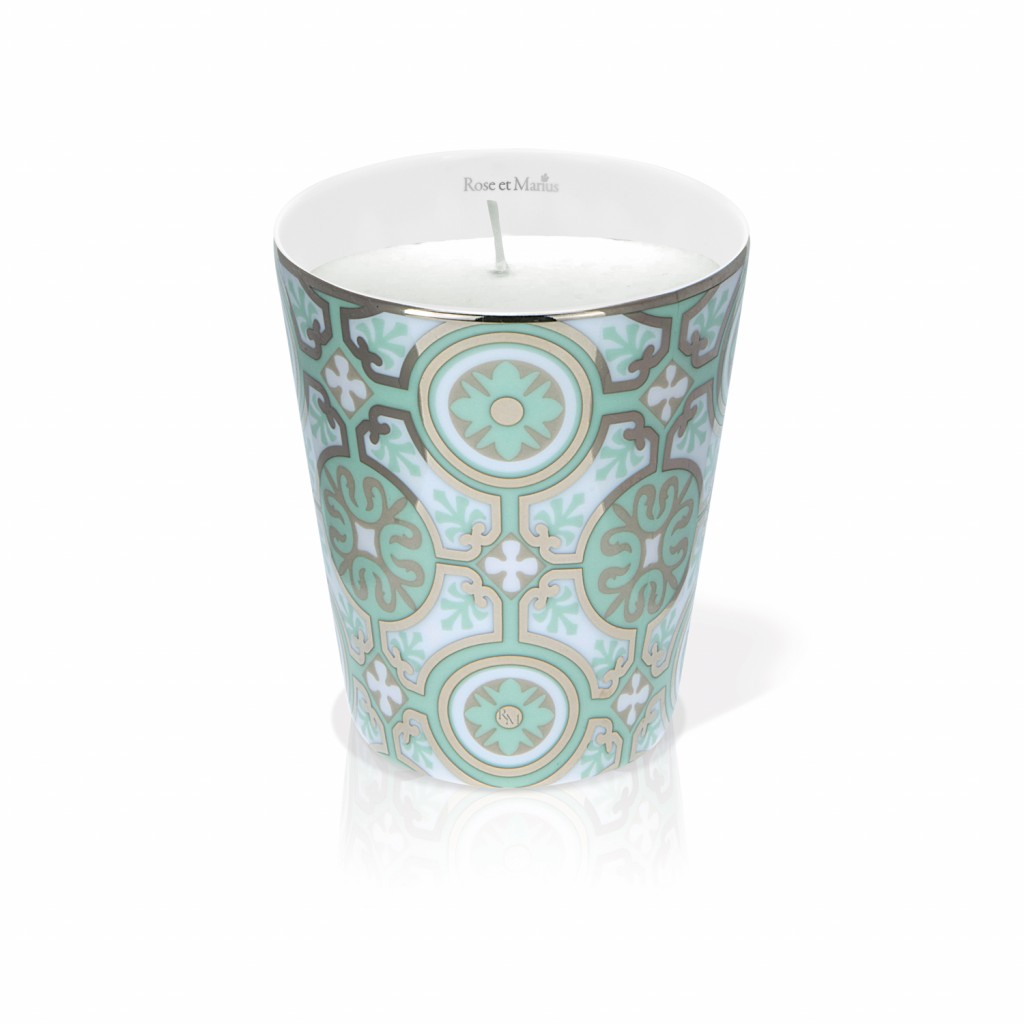 Casteau Green Scented Candle by Rose et Marius