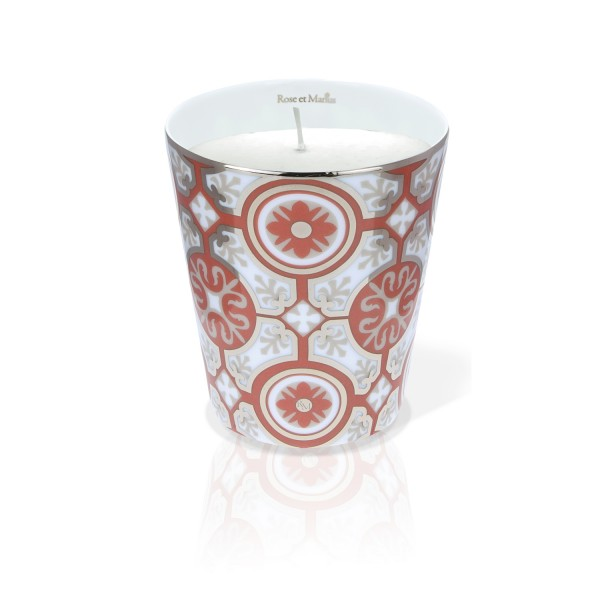 Casteau Red Scented Candle
