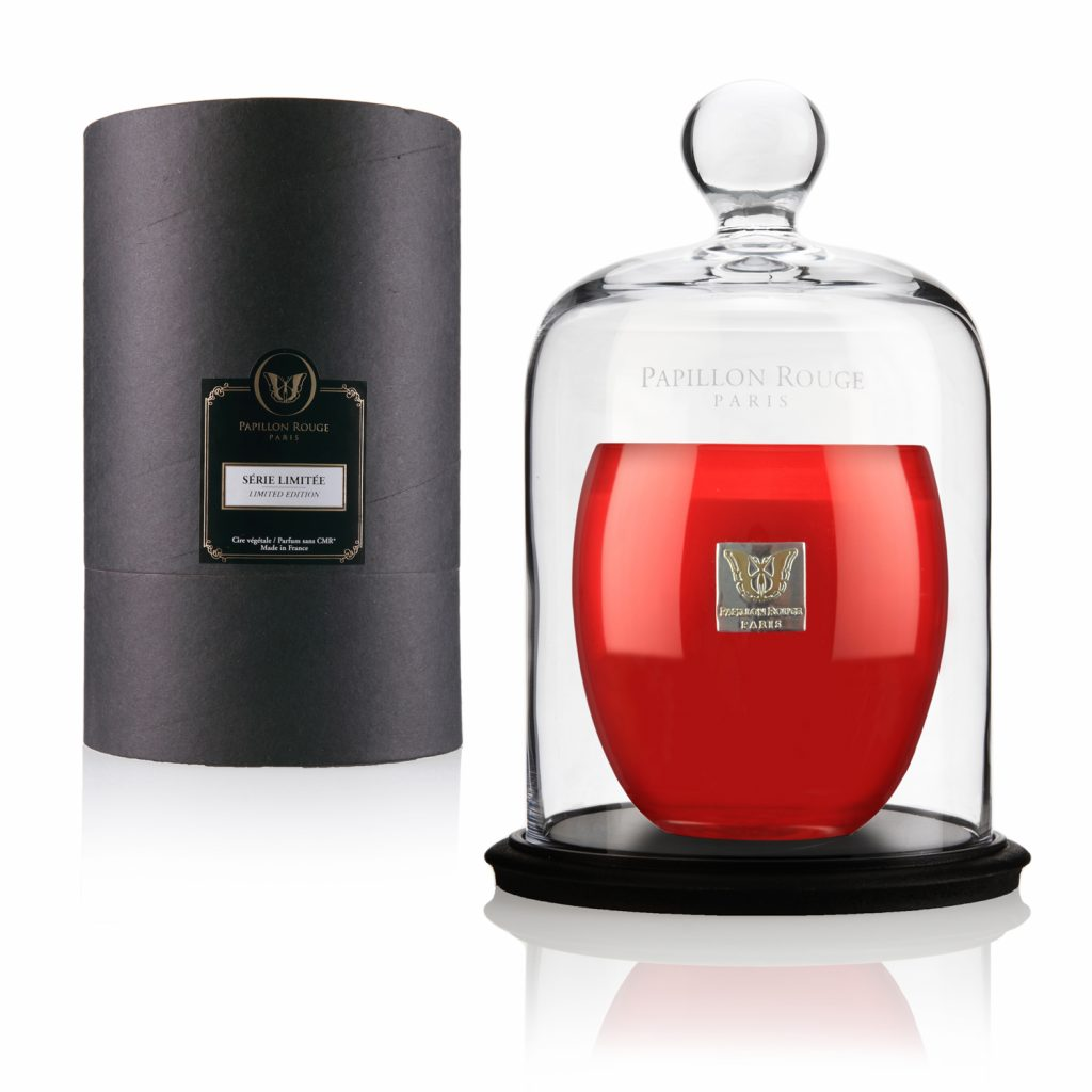 Christmas Scented Candle by Papillon Rouge