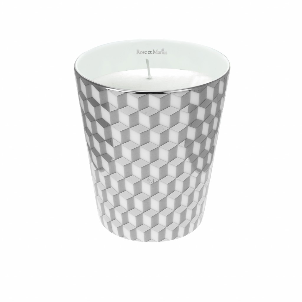 Mini Tometo Grey Scented Candle by Rose et Marius
