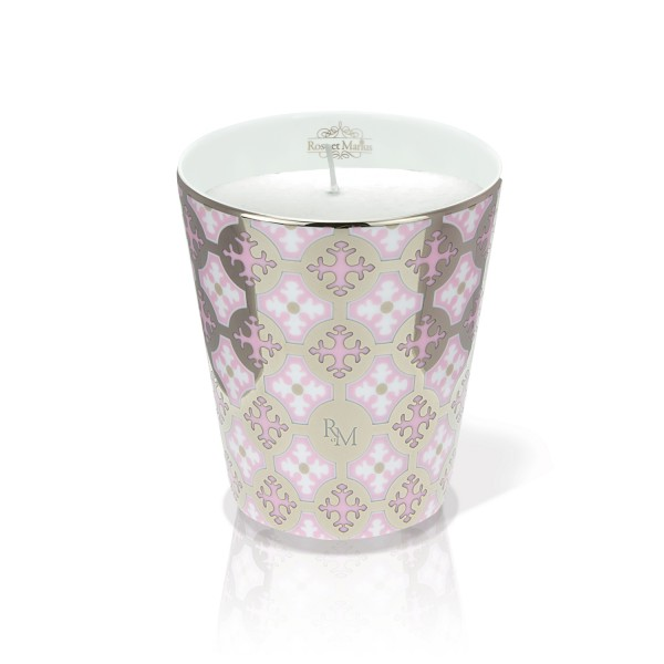 Neou Pink Platinum Scented Candle