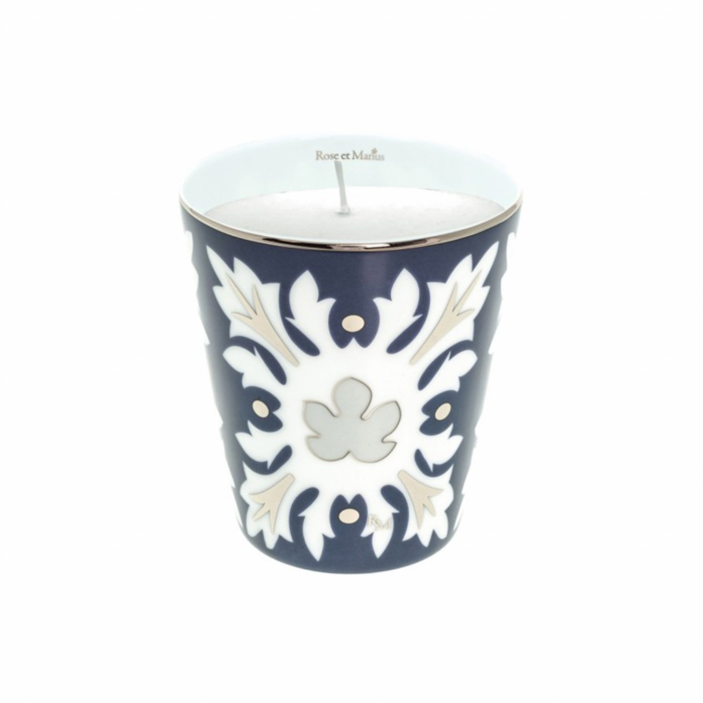 Capello Blue Scented Candle by Rose et Marius