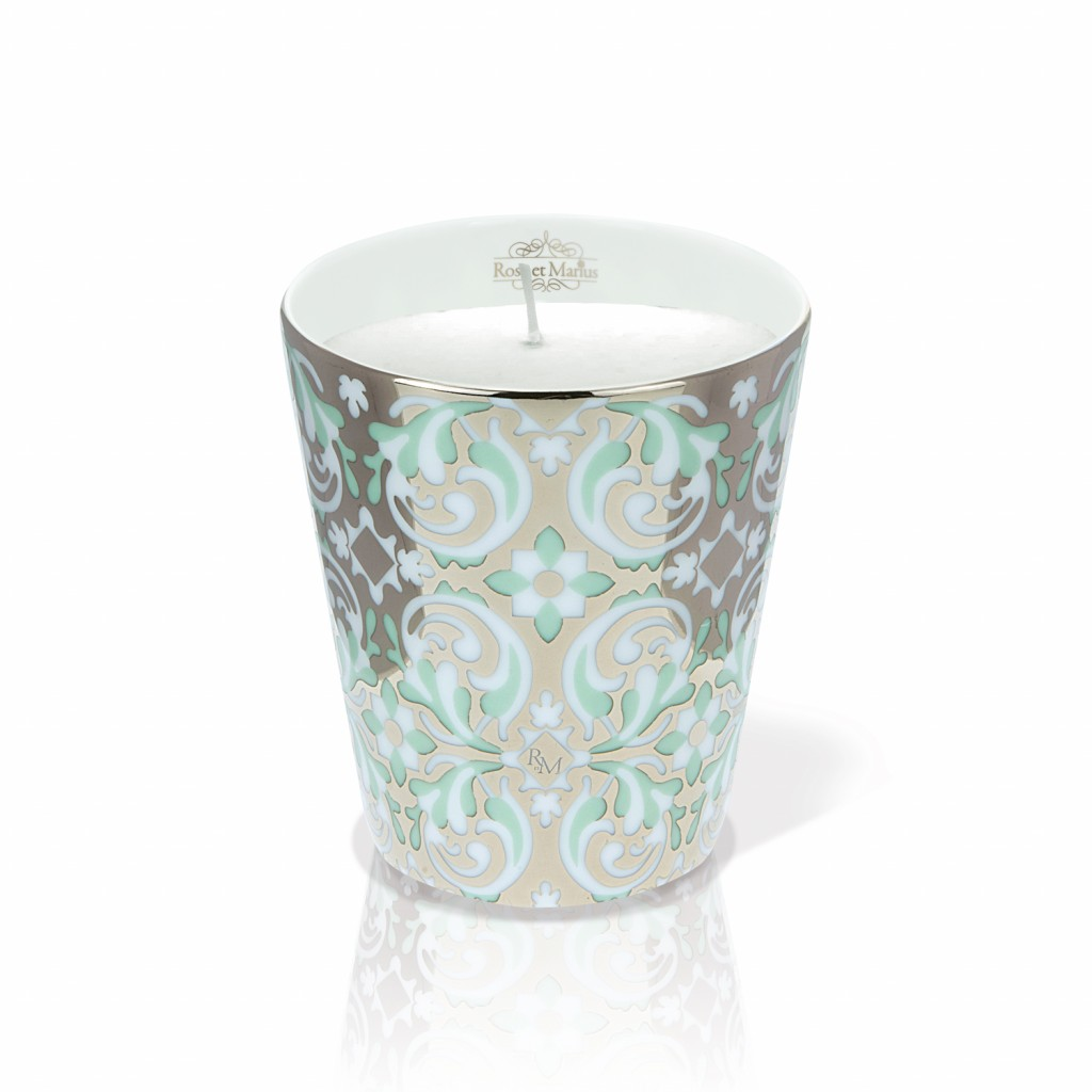 Oustau Green Scented Candle by Rose et Marius