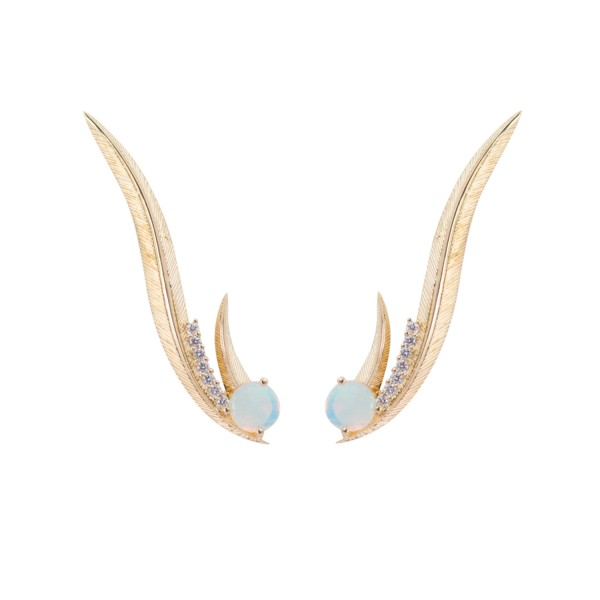 Phoenix Ear Climbers by Daou Jewellery