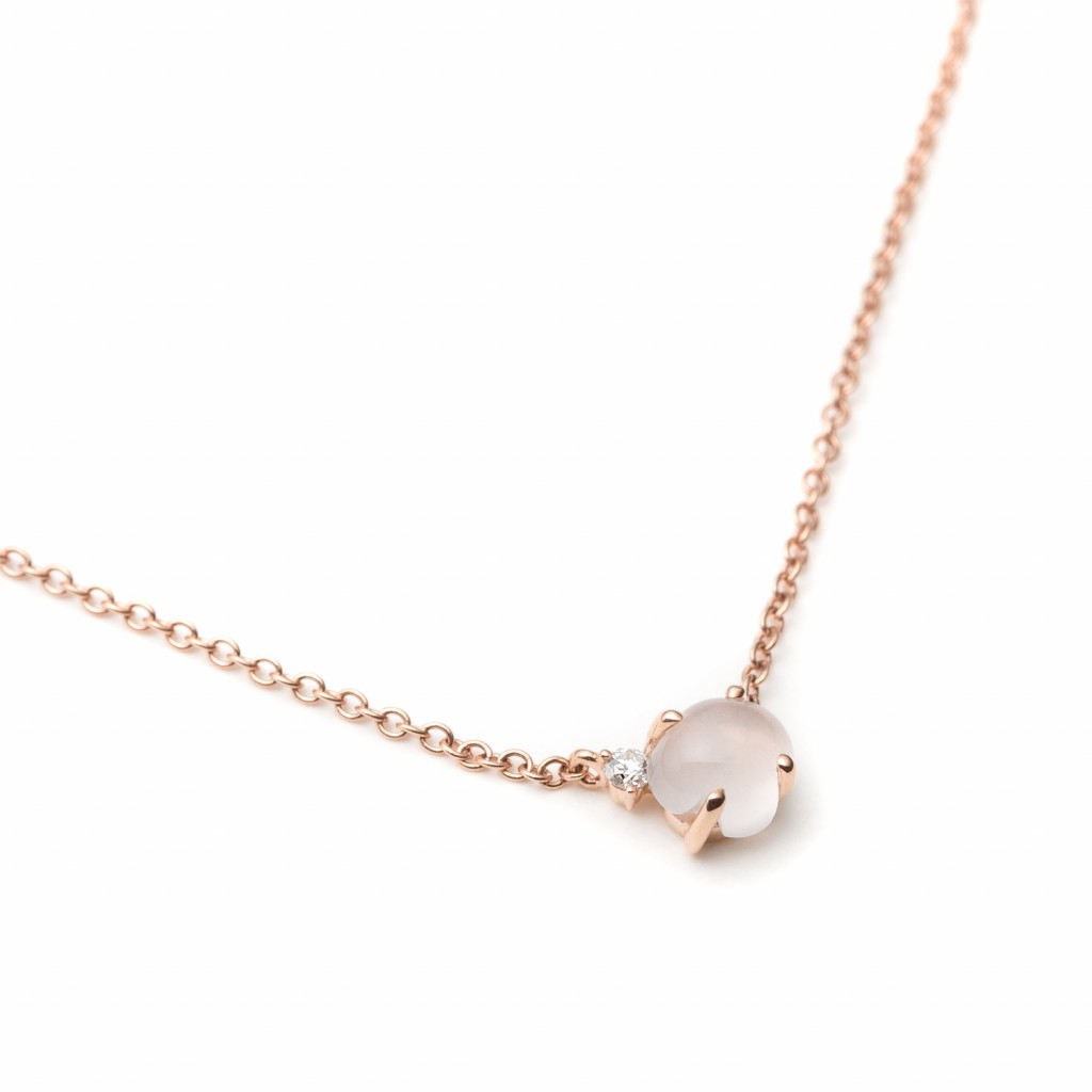 Tiny Clouds Necklace by Vieri