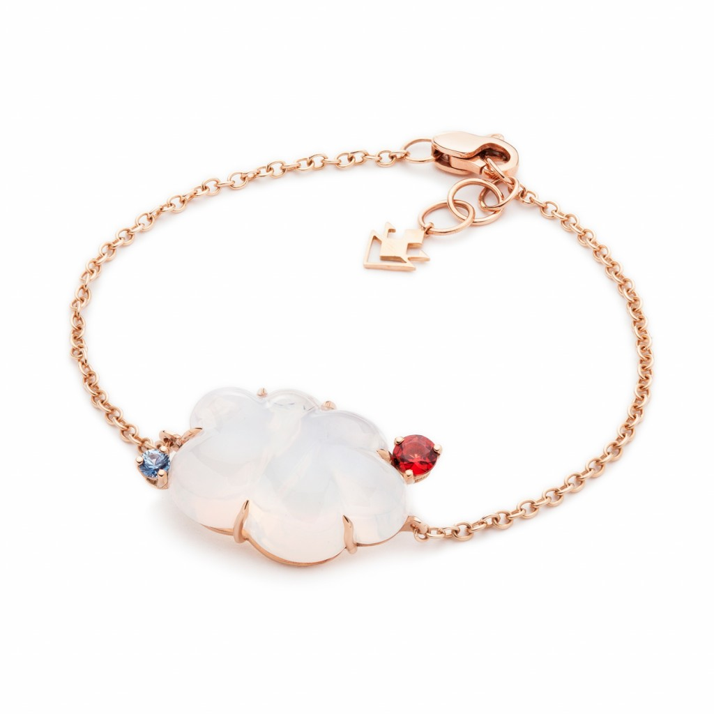 Small Clouds Bracelet by Vieri