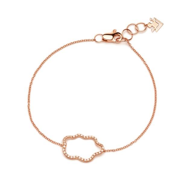 Small Golden Clouds Bracelet