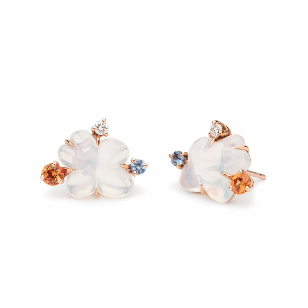 Clouds Studs by Vieri